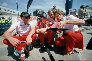 John Barnard, Niki Lauda, Ron Dennis, Tyler Alexander