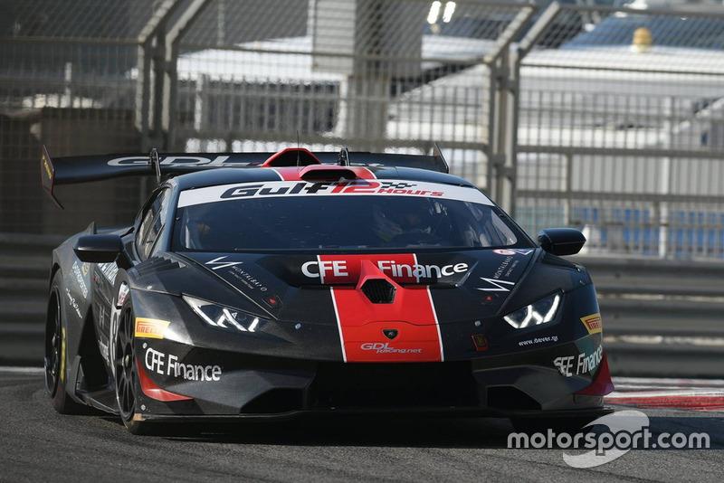 #87 GDL Racing Lamborghini Super Trofeo Evo GT3: Mario Cordoni, Steven Liquorish, Dimitris Deverikos