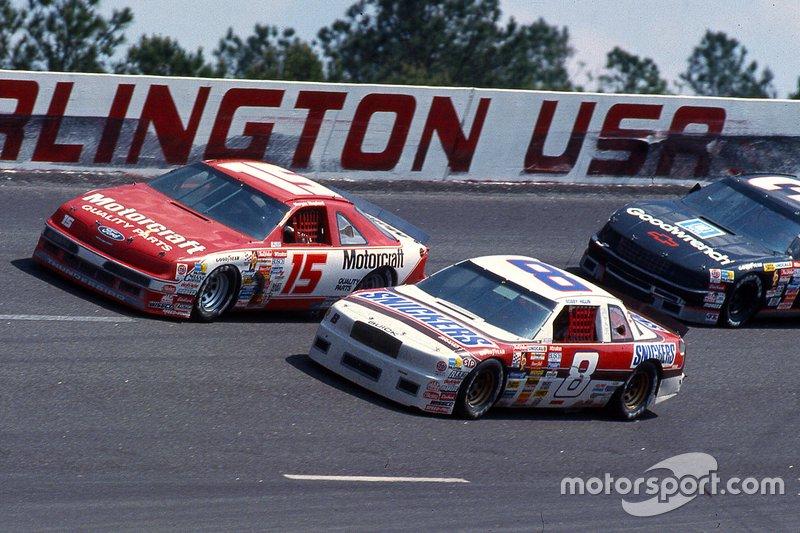 Morgan Shepherd, Bud Moore Engineering, Bobby Hillin Jr., Stavola Brothers Racing, Dale Earnhardt, Richard Childress Racing