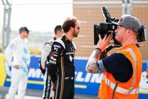 TV cameraman on the grid