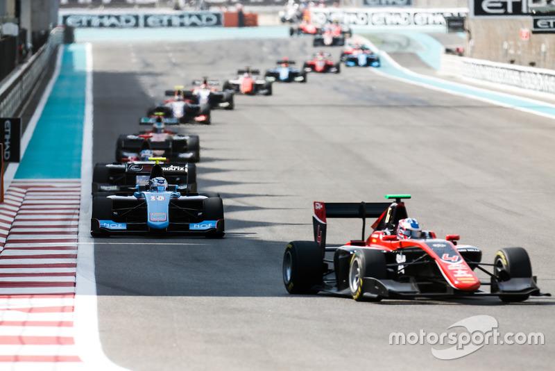 Jake Hughes, ART Grand Prix y Juan Manuel Correa, Jenzer Motorsport