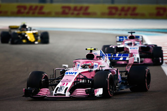 Esteban Ocon, Racing Point Force India VJM11 voor Sergio Perez, Racing Point Force India VJM11