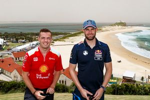 Scott McLaughlin, DJR Team Penske , Shane van Gisbergen, Triple Eight Race Engineering Holden