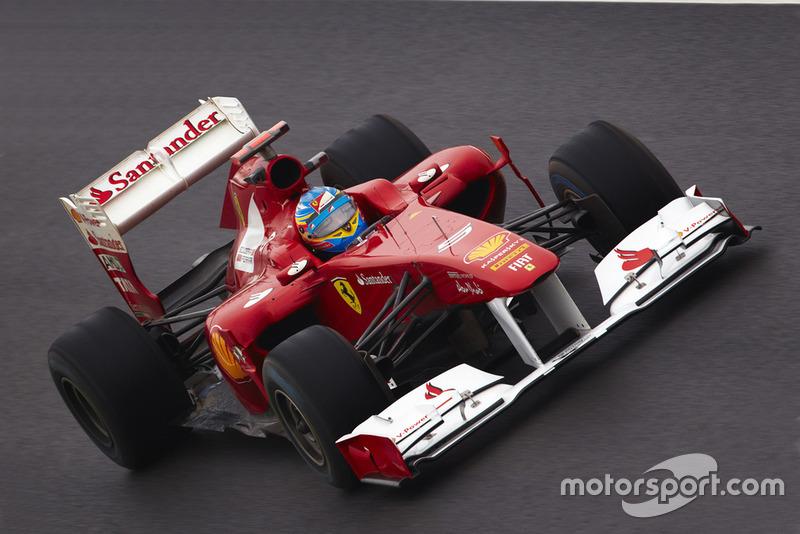 Fernando Alonso, Ferrari F15