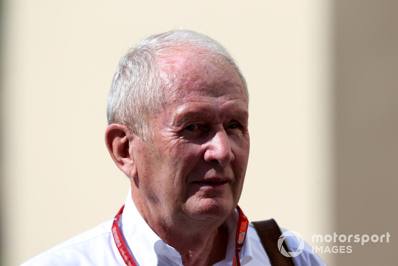 Il Dr Helmut Marko, Consulente, Red Bull Motorsport