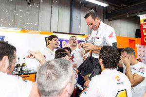 Marc Marquez, Repsol Honda Team, Alberto Puig, Team Principal, Repsol Honda Team