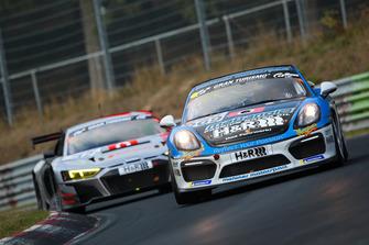 #969 Porsche Cayman GT4 CS: Moritz Kranz, Michael Rebhan