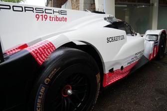 Porsche 919, Paris sokaklarında