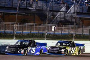 Brett Moffitt, Hattori Racing Enterprises, Toyota Tundra AISIN Group Justin Haley, GMS Racing, Chevrolet Silverado Fraternal Order Of Eagles