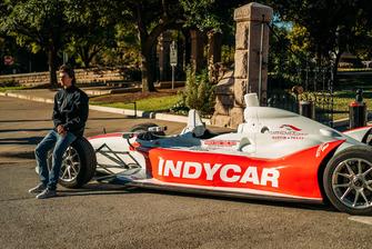 Rookie Driver ColtonHerta, IndyCar en el Capitolio