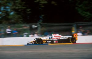 Mika Salo, Lotus 109C Mugen-Honda