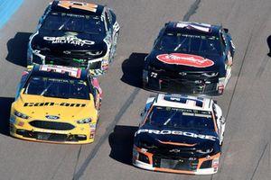 Regan Smith, Leavine Family Racing, Chevrolet Camaro Procore, Matt DiBenedetto, Go FAS Racing, Ford Fusion Can-Am/Wholey