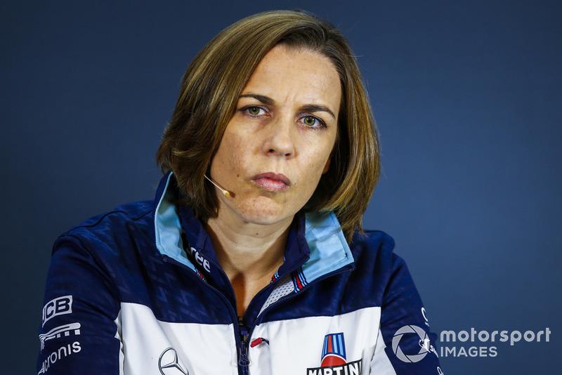 Заступник керівника Williams Racing Клер Вільямс