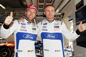 Polesitters #66 Ford Chip Ganassi Racing Ford GT: Stefan Mucke, Olivier Pla