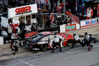 Parker Kligerman, Gaunt Brothers Racing, Toyota Camry Gaunt Brothers Racing, pit stop