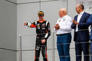 Podium : le troisième, Richard Verschoor, MP Motorsport