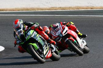 Tom Sykes, Kawasaki Racing, Lorenzo Savadori, Milwaukee Aprilia