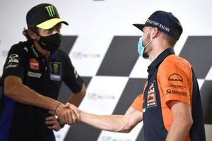 Valentino Rossi, Yamaha Factory Racing, Brad Binder, Red Bull KTM Factory Racing