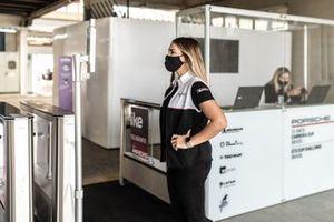 Sistema de reconhecimento facial da Porsche Cup Brasil