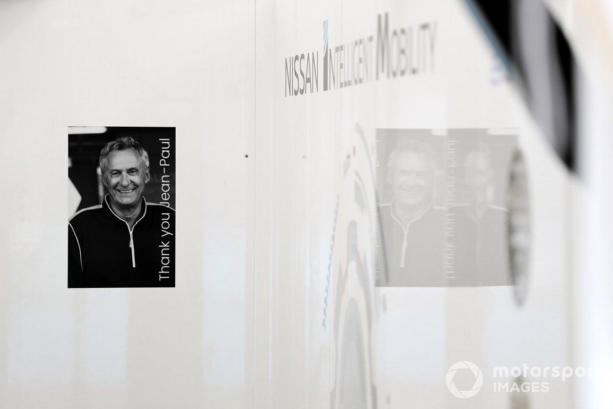 Jean-Paul Driot memorial in Nissan e.Dams