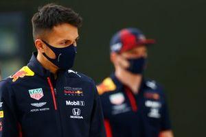 Алекс Элбон, Red Bull Racing, Макс Ферстаппен, Red Bull Racing