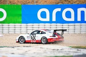 Michael Fassbender, Porsche Motorsport retires from the race