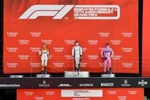 Podyum: Yarış galibi Ayhancan Guven, martinet by Almeras, 2. Larry ten Voorde, Team GP Elite, ve 3. Dylan Pereira, BWT Lechner Racing