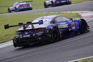 #100 Team Kunimitsu Honda NSX-GT: Naoki Yamamoto, Tadasuke Makino