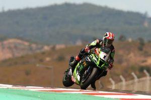 Jonathan Rea, Kawasaki Racing Team on the brakes