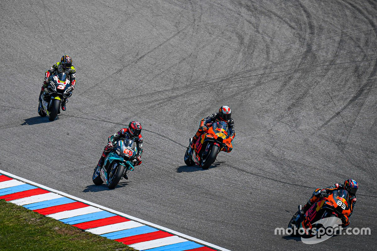 Brad Binder, Red Bull KTM Factory Racing, Pol Espargaró, Red Bull KTM Factory Racing, Fabio Quartararo, Petronas Yamaha SRT, Johann Zarco, Avintia Racing