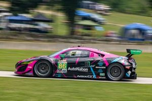 #86 Meyer Shank Racing w/ Curb-Agajanian Acura NSX GT3: Mario Farnbacher, Matt McMurry