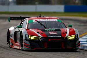 #30 Team Hardpoint Audi R8 LMS GT3, GTD: Rob Ferriol, Spencer Pumpelly