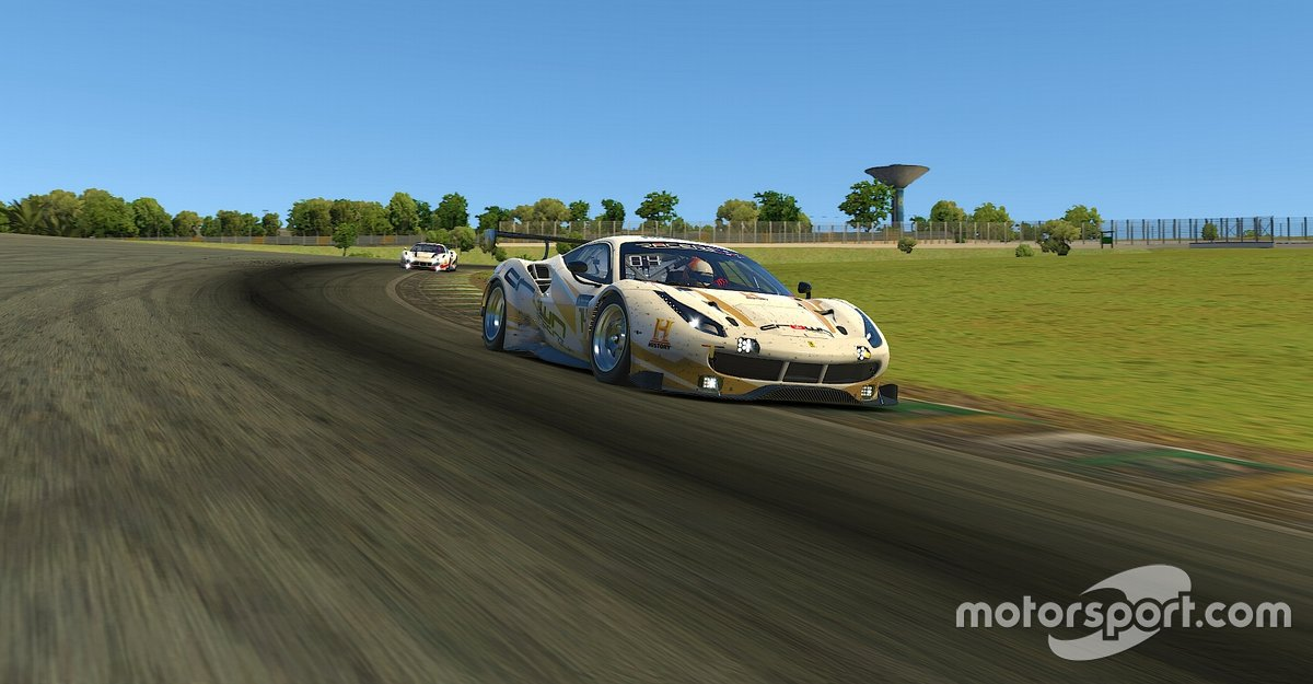 Goldner na seletiva Crown Racing