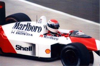 Emanuele Pirro, McLaren MP4/4