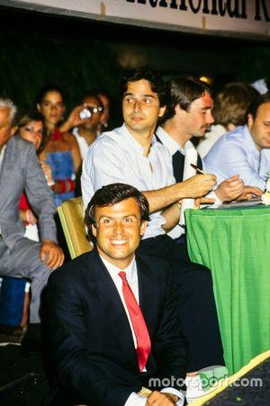 Patrick Tambay, Nelson Piquet y Nigel Mansell