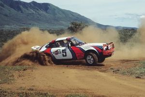 Bjorn Waldegard, Hans Thorszelius, Porsche 911