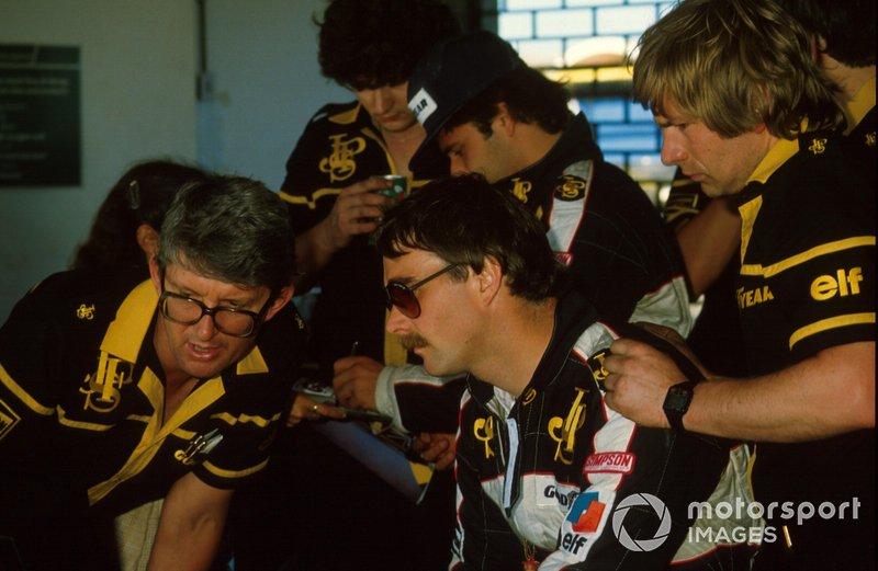 Peter Warr, Nigel Mansell