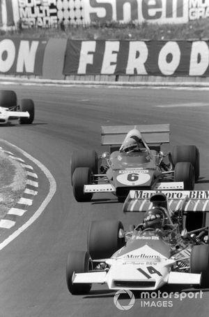 Jackie Oliver, BRM P160B, Arturo Merzario, Ferrari 312B2