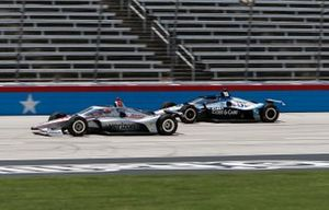 Will Power, Team Penske Chevrolet, Graham Rahal, Rahal Letterman Lanigan Racing Honda