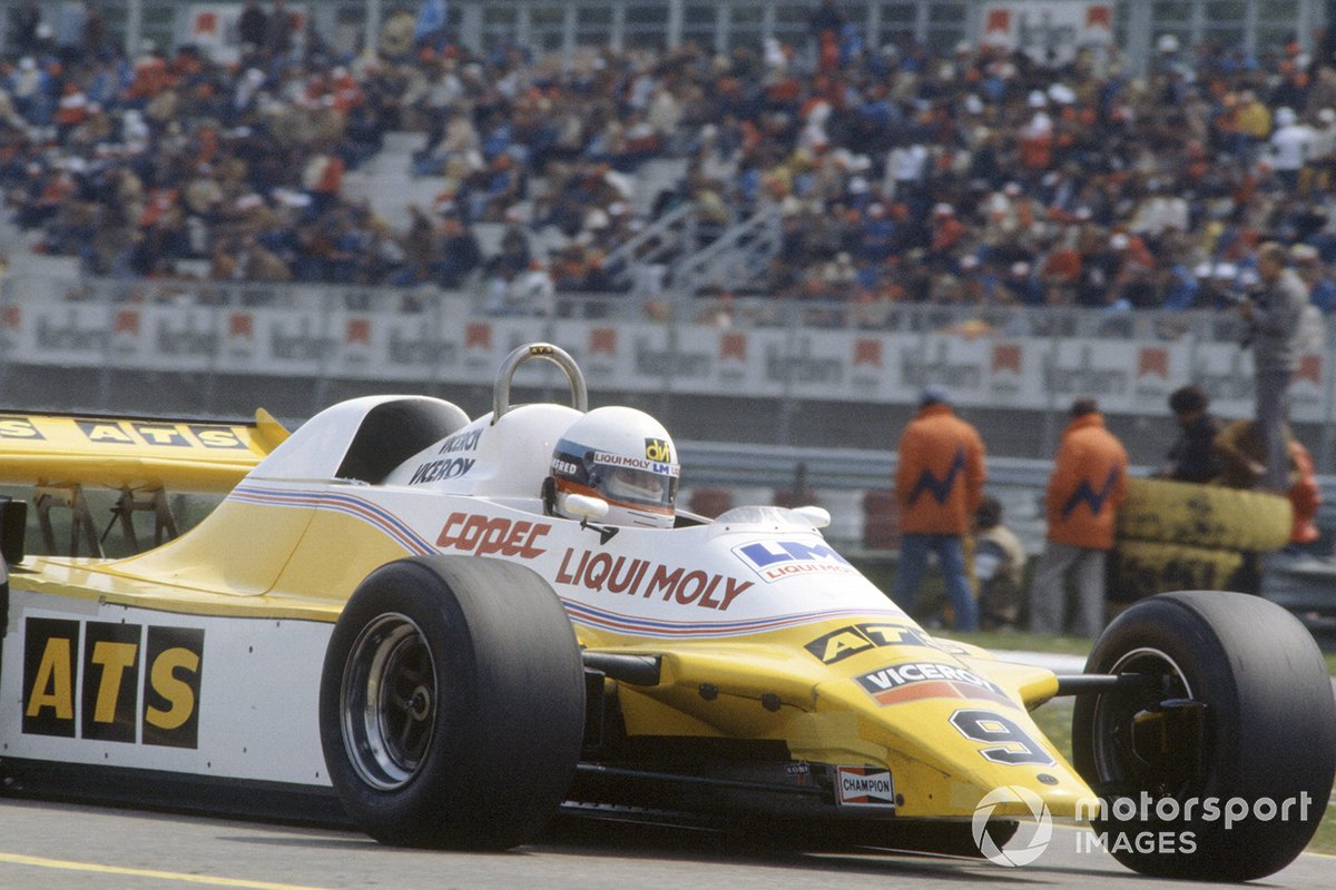 Manfred Winkelhock, ATS D5-Ford Cosworth