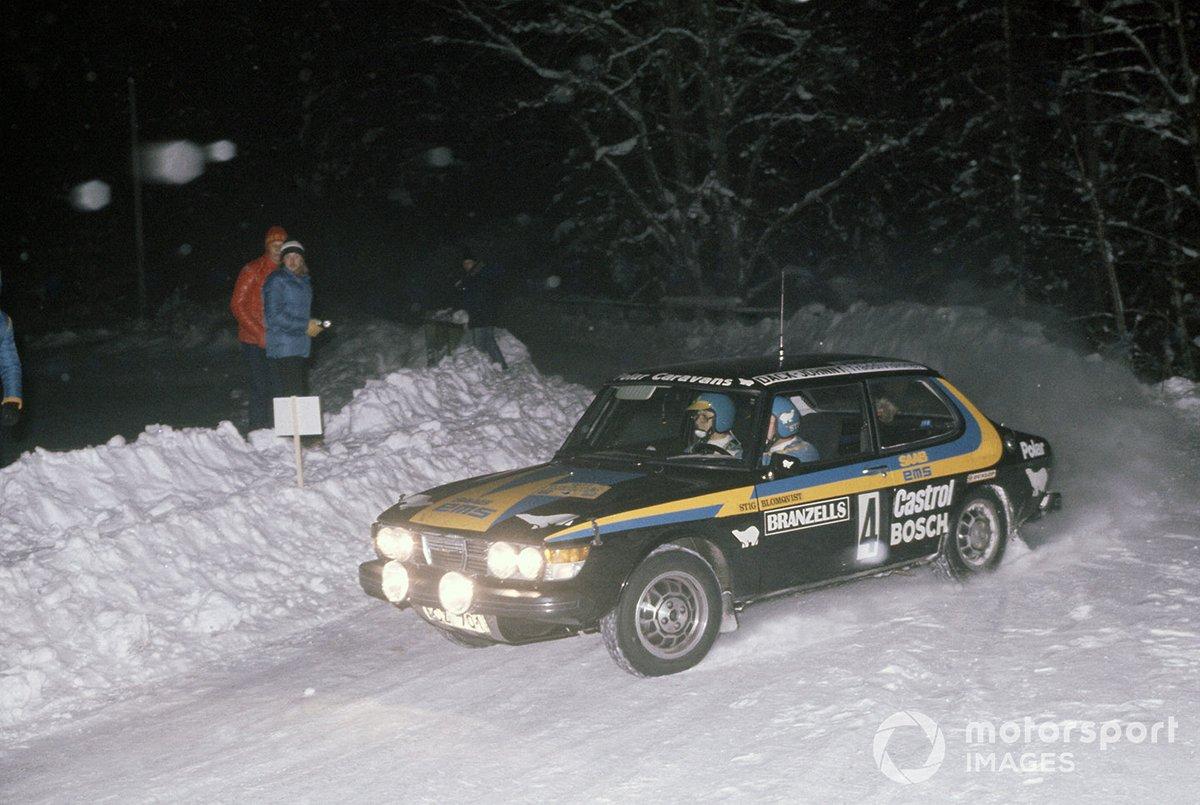 3. Rally de Suecia 1977: 58,72 km/h
