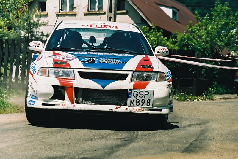 Stefan Karnabal, Bartłomiej Boba, Mitsubishi Lancer Evo VI