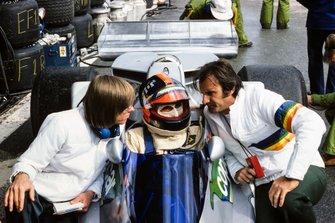 Emerson Fittipaldi, Copersucar, Fittipaldi FD04, mit Ricardo Divila und Wilson Fittipaldi