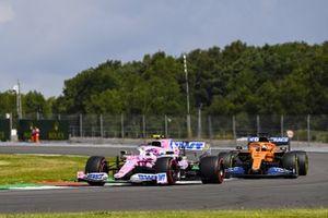 Lance Stroll, Racing Point RP20, Carlos Sainz Jr., McLaren MCL35
