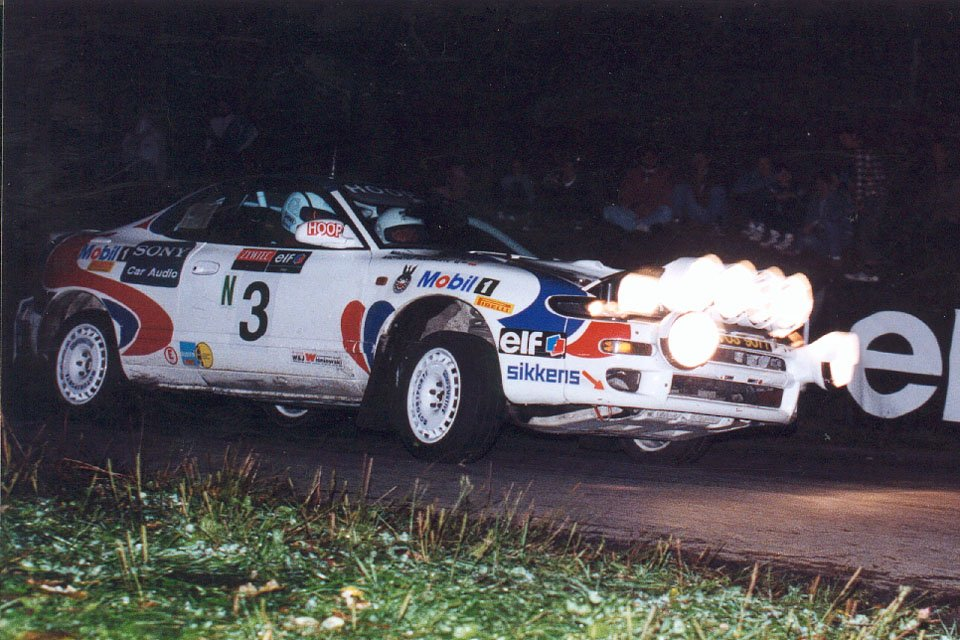 Krzysztof Hołowczyc, Maciej Wisławski, Toyota Celica Turbo 4WD (ST185)