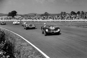 Stirling Moss, Jaguar C-Type