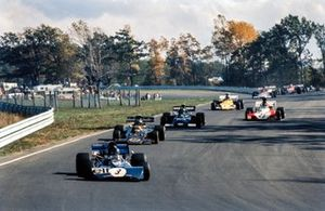 Patrick Depailler, Tyrrell 004, Reine Wisell, Lotus 72D, Henri Pescarolo, Williams, March 721