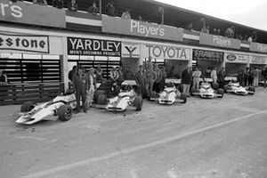 British Racing Motors George Eaton, Helmut Marko, Peter Gethin, Howden Ganley, Jo Siffert, GP del Canada del 1971