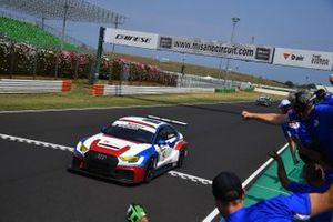Eric Brigliadori, BF Motorsport, Audi RS 3 LMS TCR, vince gara 2