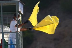 Yellow flag, Spanish WorldSBK, 2020